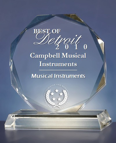 Campbell Musical Instruments - Best of Detroit 2010